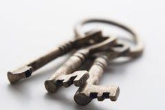 Antieke sleutels Royalty-vrije Stock Foto
