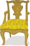 Antieke stoel Stock Illustratie