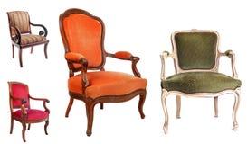 Antieke stoelen Royalty-vrije Stock Fotografie