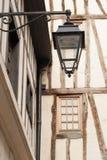 Antieke straatlantaarn Royalty-vrije Stock Afbeelding