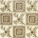 Antieke tegel stock afbeelding