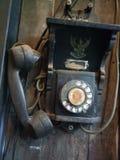 Antieke Telefoon stock afbeelding
