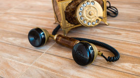 Antieke telefoon, Huistelefoon, Uitstekende telefoon, abstract o Royalty-vrije Stock Afbeelding