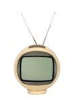 Antieke televisie-uitzendingen Royalty-vrije Stock Foto