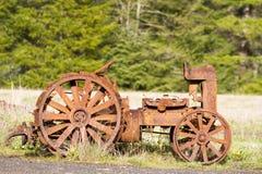 Antieke Tractor Royalty-vrije Stock Afbeelding