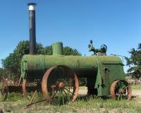 Antieke tractor Royalty-vrije Stock Afbeeldingen
