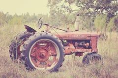 Antieke Tractor 1949 stock afbeelding