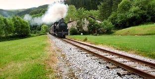 Antieke trein stock fotografie