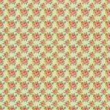 Antieke Uitstekend nam het Patroon van het Behang toe Stock Foto