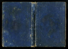 Antieke Uitstekende het Boekdekking van het Agendadagboek Royalty-vrije Stock Fotografie