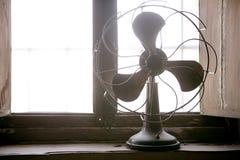 Antieke uitstekende luchtventilator royalty-vrije stock foto