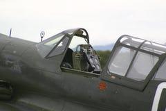 Antieke vechtersvliegtuigen Stock Afbeelding