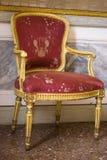Antieke Venetiaanse stoel royalty-vrije stock afbeeldingen