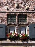 Antieke vensters Royalty-vrije Stock Foto