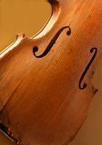 Antieke viool op vertoning stock fotografie