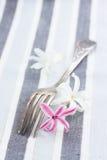 Antieke vork Royalty-vrije Stock Foto's