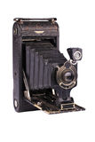 Antieke vouwende camera Royalty-vrije Stock Afbeelding