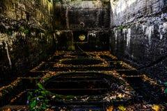 Antieke watertunnel voor oude molen royalty-vrije stock foto's