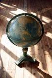 Antieke wereldbol Royalty-vrije Stock Afbeeldingen