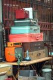Antieke winkel en film van de nostalgie de oude camera royalty-vrije stock afbeelding