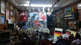 Antieke winkel in Nicosia - Cyprus Stock Afbeelding
