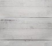Antieke witte houten achtergrond Royalty-vrije Stock Foto's