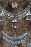 Antieke zilveren reeks Royalty-vrije Stock Afbeelding
