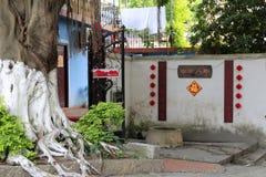 Antient célèbre puits d'eau en île de gulangyu, porcelaine image libre de droits