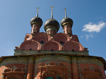 Antient church of the Yaroslavl Stock Photo
