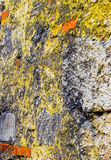 Antient stone wall. An Ancient stone wall, background texture, macro Stock Images