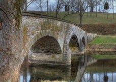 antietam bridżowy zatoczki md sharpsburg Zdjęcia Royalty Free