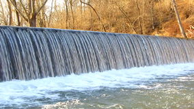 Antietam Creek Waterfall in March Stock Photos