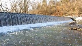 Antietam Creek Waterfall stock video