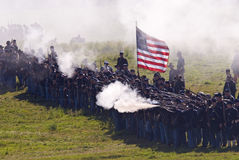Antietam Reenactment September 15, 2012 Stock Image