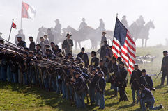 Antietam Reenactment September 15, 2012 Stock Photos