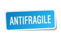antifragile αυτοκόλλητη ετικέττα ελεύθερη απεικόνιση δικαιώματος