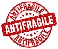 antifragile κόκκινο γραμματόσημο διανυσματική απεικόνιση