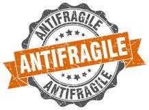 antifragile σφραγίδα γραμματόσημο διανυσματική απεικόνιση