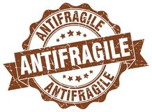 antifragile foka znaczek Obrazy Royalty Free