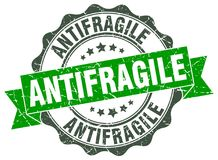 antifragile foka znaczek Zdjęcie Royalty Free
