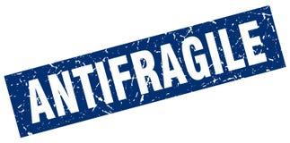 Antifragile znaczek Zdjęcia Stock
