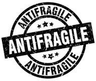 Antifragile znaczek Zdjęcia Royalty Free