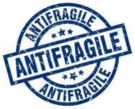 Antifragile znaczek Zdjęcie Royalty Free