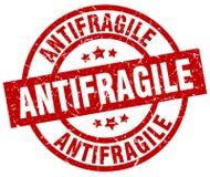 Antifragile znaczek Fotografia Royalty Free