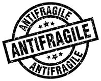 Antifragile znaczek Obrazy Royalty Free