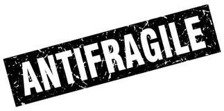 Antifragile znaczek Obrazy Stock