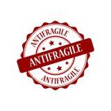 Antifragile znaczka ilustracja Zdjęcia Royalty Free