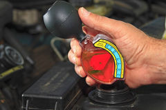 antifreeze test Obrazy Stock
