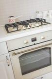 Antigüedad moderna de la cocina foto de archivo