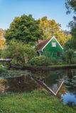 A antiga aldeia piscatória Haaldersbroek Fotografia de Stock Royalty Free